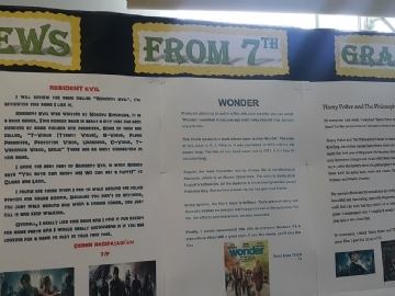 7.Sınıflarımızın İngilizce Film, Kitap Ve Oyun Kritikleri (Eleştirileri)
