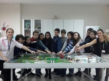 Türk Böbrek Vakfı Çevre Koleji Öğrencileri ile Birlikteydi