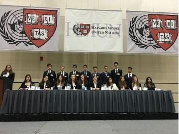 Çevre Lisesi 2016 Harvard MUN Konferansı'nda