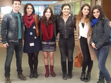Çevre High School At Debate Championship