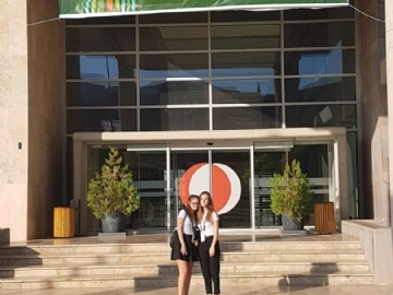 Çevre College Students Finalists at the International Green Brain Competition