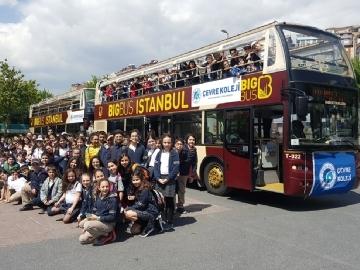 5.Sınıflar Big Bus ile Tarihi Yarımada Gezisinde