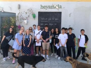 Mingling and Orienteering on Heybeliada with the Danish