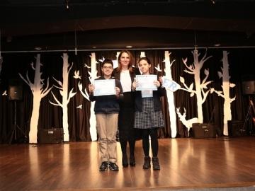 Çevre Ortaokulu 1. Dönem Kapanış Ödül Töreni