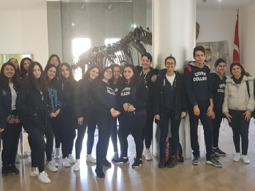 Çevre High School 11th Graders at ITU