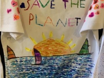 5. Sınıflarımız Kendi Okul Takımı Tişörtlerini Hayal Edip Tasarladılar