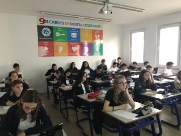 7. Sınıflar Hızlı Okuma Eğitimini Tamamladı