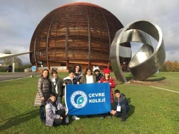 """""""Avrupa Nükleer Araştırma Merkezi""""nde Unutulmaz Bir Deneyim"""