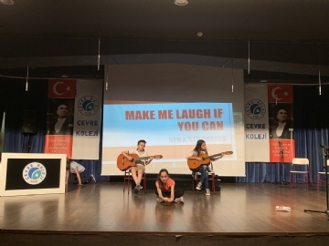 "5th and 6th Grades English Day ""MAKE ME LAUGH IF YOU CAN"" Show"