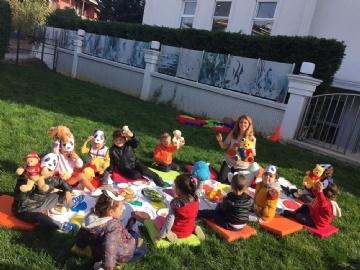 """Çevre Anaokullarında """"Teddy Bear"""" Piknik Partisi"""