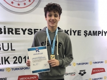 New Turkish Record and Medals