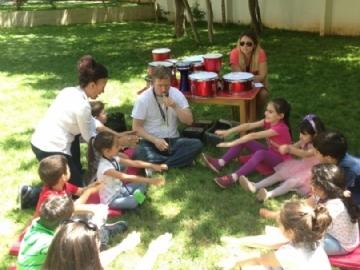 Çevre Kinder Garden Etkinliği