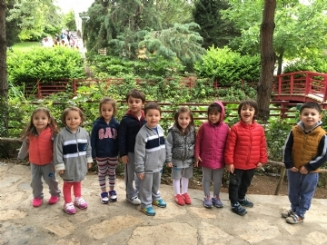 Our Little Students Visit The Nezahat Gökyiğit Botanical Garden
