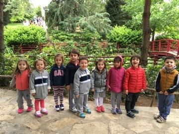 Our Little Students Visit The Nezahat Gökyiğit Botanical Garden