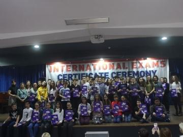 Uluslararası Sınavlarda Yine Büyük Başarı!