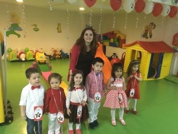 Çevre Pre Schools 23rd of April Enthusiasm
