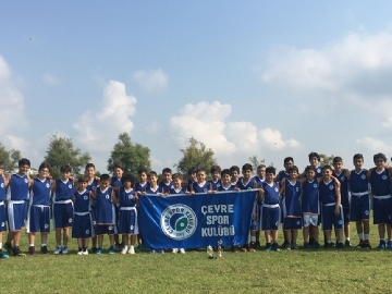 Çevre Sports Club Came First at the Summer Tournament in Antalya
