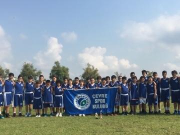 Çevre Spor Kulübü Antalya Yaz Basketbol Turnuvasında 3. Oldu