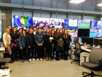 Prep Students' trip to Hurriyet Newspaper