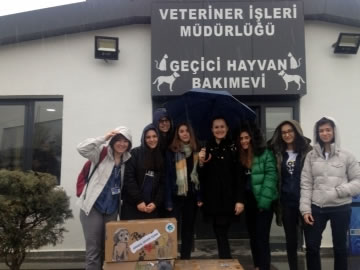 Animal Saver Team Visits the Animal Shelter