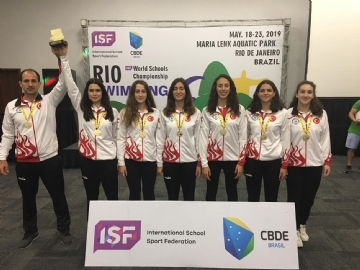 Çevre College Becomes World Champion