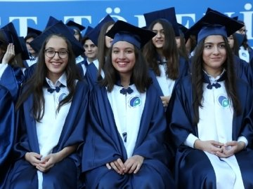 Graduation Excitement in Çevre College