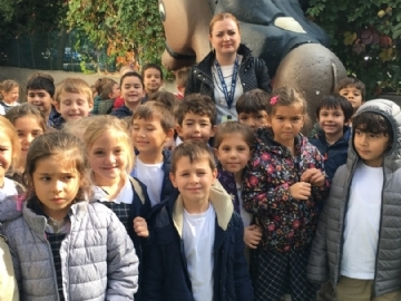 Çevre Koleji's 1st grade students take a trip to the Göztepe Museum of Toys