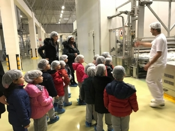 Production Field Trip to the Bread Factory