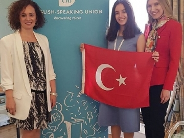ESU- Uluslararası Toplum Önünde İngilizce Konuşma Yarışması