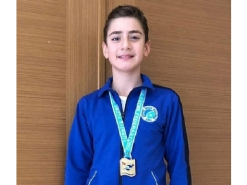 New Success of Çevre in Swimming