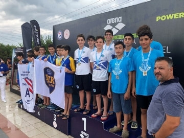 Another Success from Çevre Swimming Team at Championships in Turkey