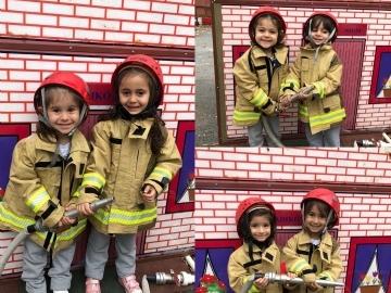 Preschool Halfway Group Trip to the Firestation
