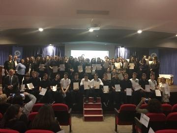 Çevre Koleji Öğrencilerinden Uluslararası Yabancı Dil Sınavlarında Üstün Başarı