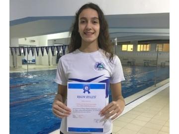 Yüzmede Türkiye Rekoru
