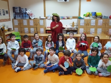 """Read, Think, Live"" at Çevre Kindergardens"