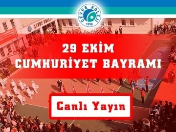 29 Ekim Cumhuriyet Bayramı - Canlı Yayın