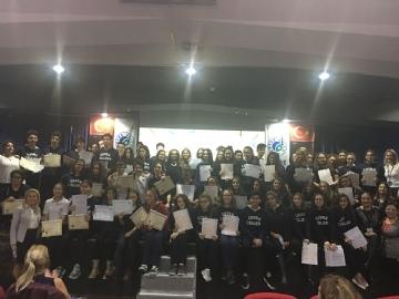 Lise Uluslararası Sertifika Töreni - 2018