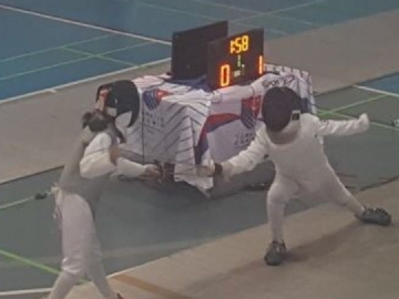 Our Student Has Won Third Place in The Super Junior Girl's Foil Category