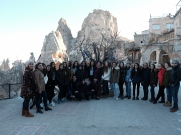 "8th Graders in Cappadocia – ""The Land of The Beautiful Horses"""