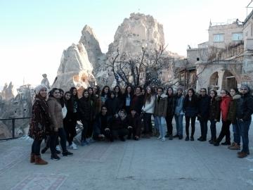 """8.Sınıf Öğrencilerimiz """"Güzel Atlar Ülkesi"""" Kapadokya'da"""