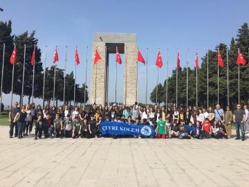 Çanakkale Zaferinin 104.Yılında Çanakkale'deyiz