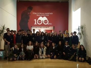 8. Sınıf Öğrencilerimiz Harbiye Askeri Tarih Müzesinde