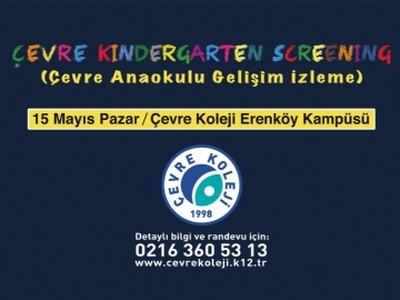 Çevre Kindergarten Screening