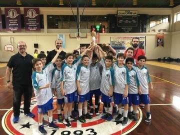 Çevre Spor Kulübü Minik Basketbolcularının Şampiyonluğu
