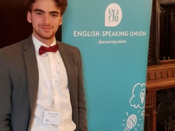 International English Public Speaking Competition Turkey Champion and World Finals in London