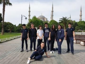 "Prep Students at ""Sultanahmet Square"""