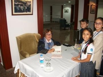 Feyza Hepçilingirler'i Dil Bayramı'nda Konuk Ettik