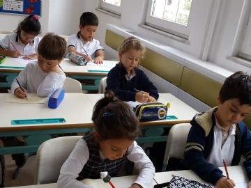 Birinci Sınıfların Çevre'de İlk Gün Heyecanı