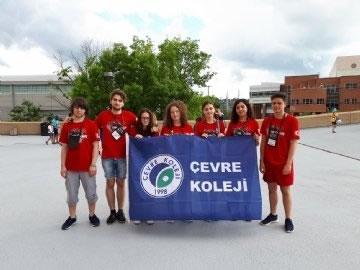 Çevre Lisesi Öğrencileri Amerika'da Ülkemizi Temsil Etti