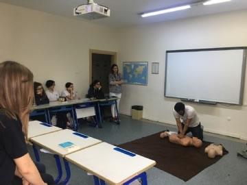 First Aid Training at Çevre High School